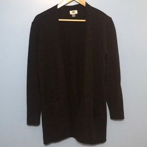 Old Navy Long Black Sweater, Size Large